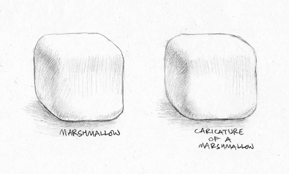 "Scribble no. 13 : 24/2/13     ""Marshmallows taste like a parody of themselves"""