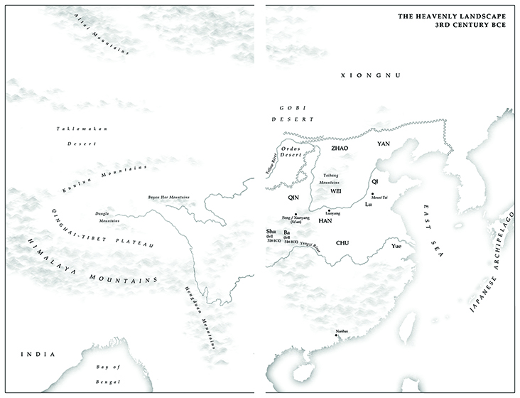 Map 1 - The Heavenly Landscape 3rd Century BCE (small)